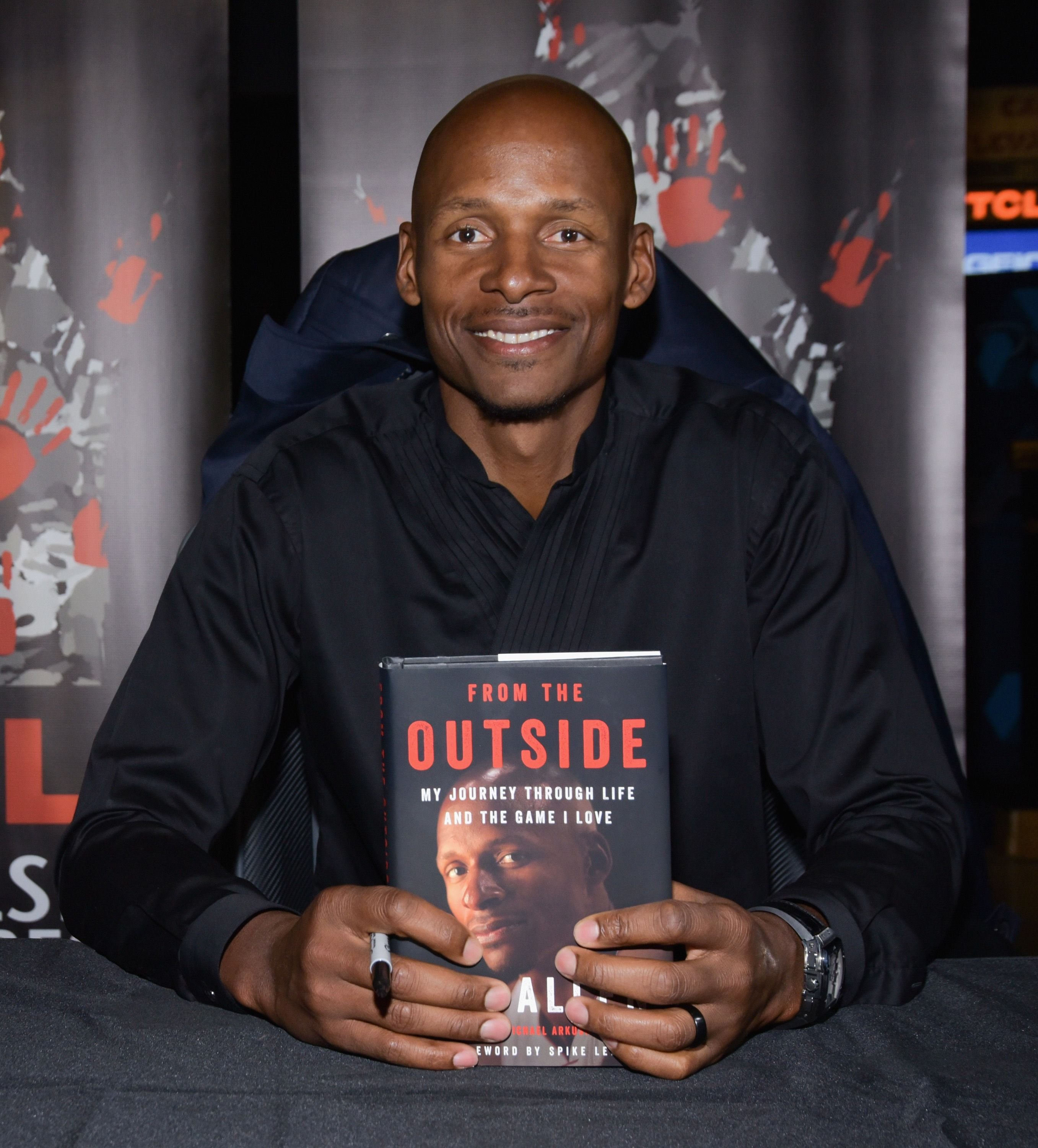 Ray Allen at his book signing and 20th anniversary screening of Spike Lee's 'He Got Game' at TCL Chinese 6 Theatres on April 24, 2018 | Photo: Getty Images
