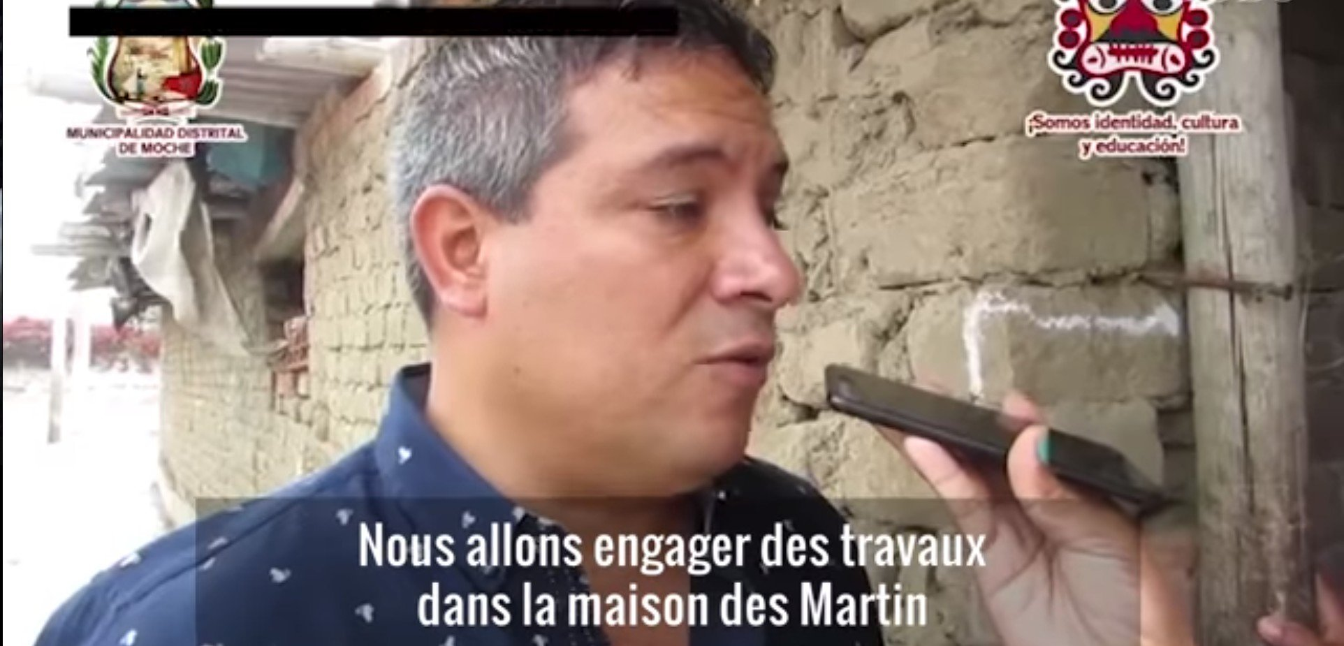 Le maire de Moche s'engageant à faire changer les choses. l Source: YouTube/ L'Obs