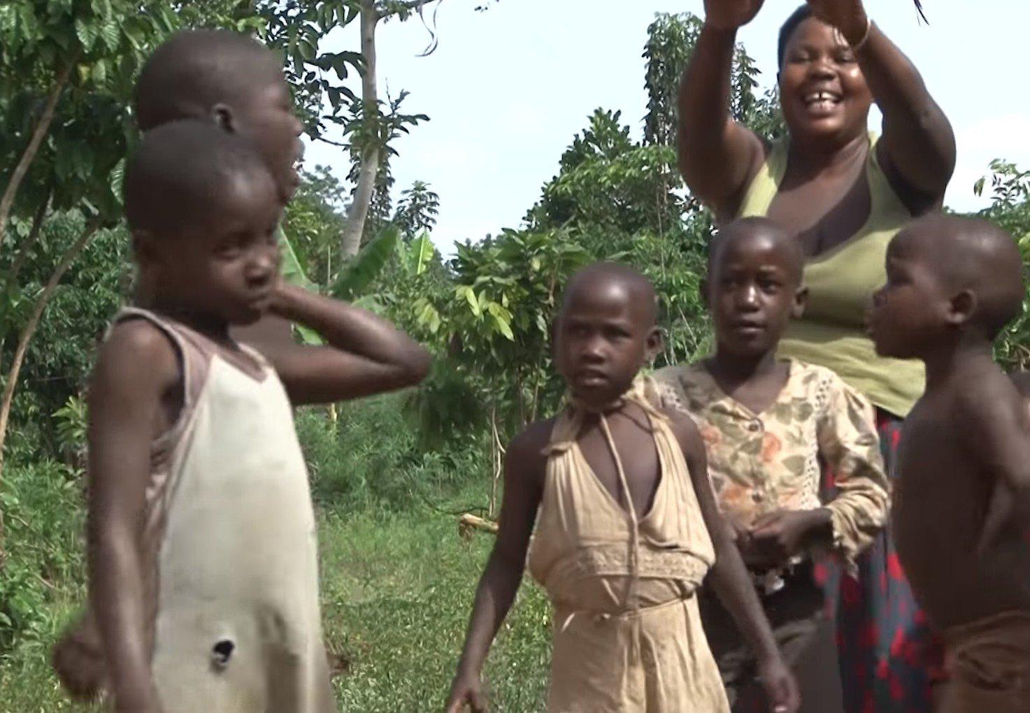 Mariam et ses enfants. l Source: YouTube/ Pulse Live Kenya