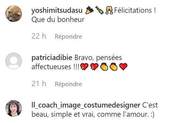 Les commentaires affectueux des internautes. l Source : Instagram/jcdecastelbajac