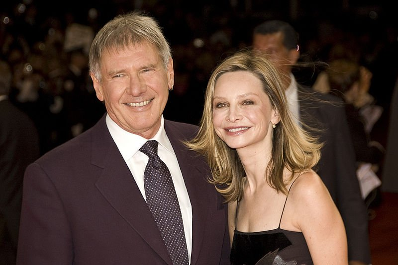 Harrison Ford and Calista Flockhart Deauville 2009. | Source: Wikimedia Commons