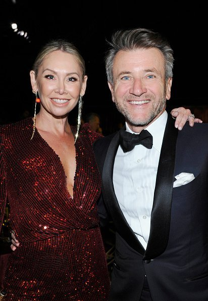 Kym Herjavec and Robert Herjavec at the 2019 G'Day USA Gala at 3LABS  in Culver City, California | Photo: Getty Images