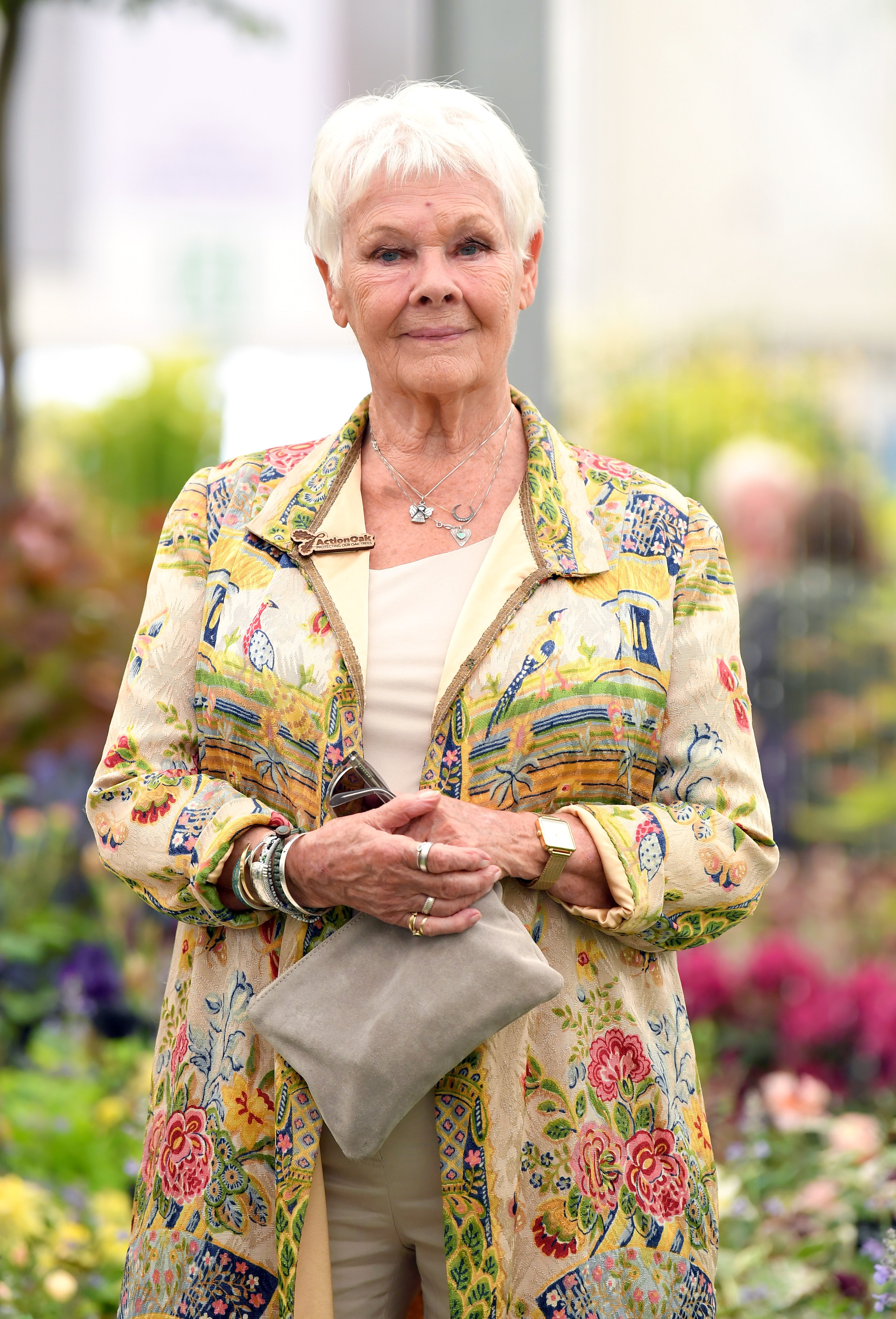 Dame Judi Dench attends the RHS Chelsea Flower Show 2019 press day at Chelsea Flower Show on May 20, 2019 in London, England | Photo: Getty Images