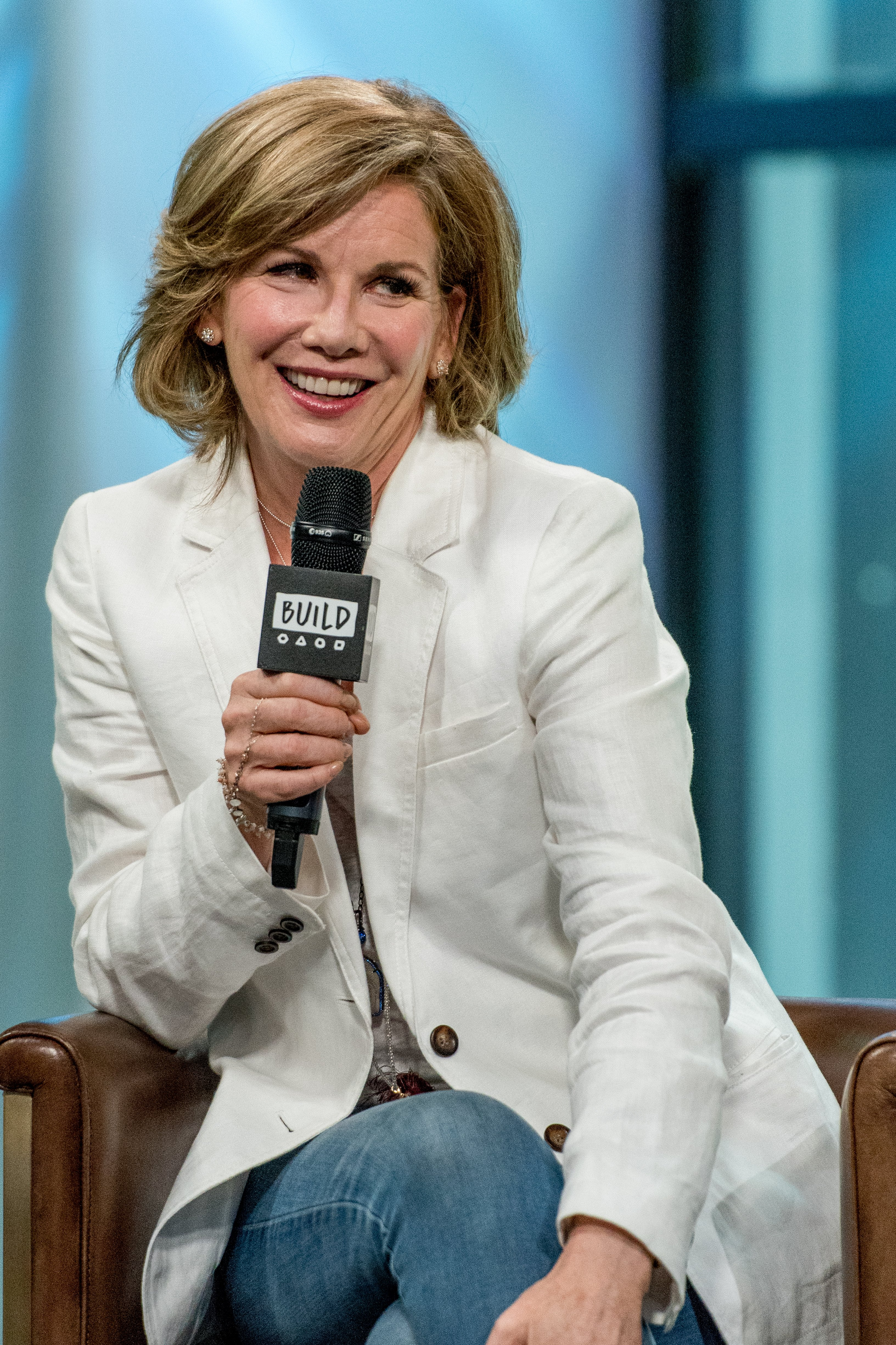 "Melissa Gilbert discusses ""If Only"" with the BuiLd Series at Build Studio on August 14, 2017 