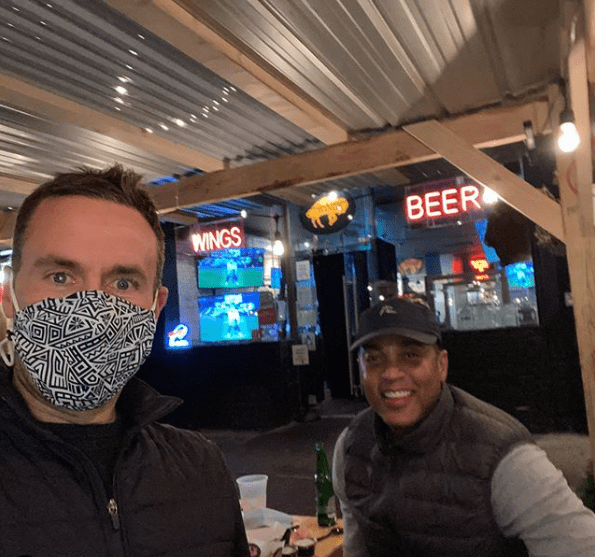 CNN's Don Lemon and Tim Malone enjoy a date night in New York City in November, 2020. | Source: Instagram/timpmalonenyc