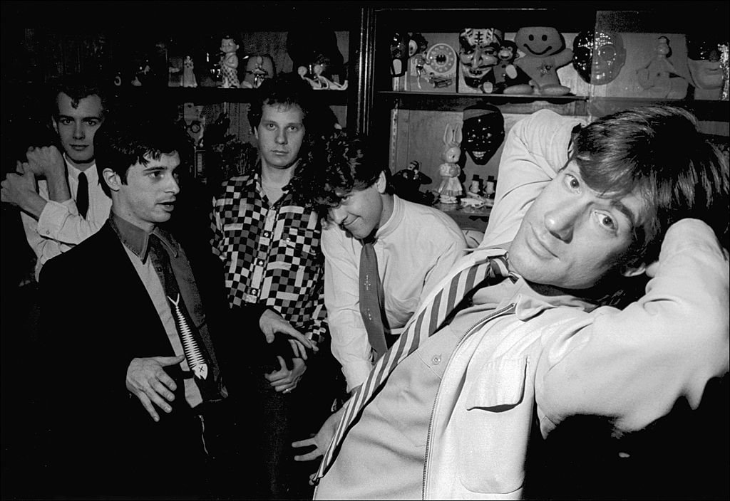 Portrait of television personality and musician Lance Loud and his band the Mumps in New York on October 25, 1978.   Photo: Getty Images