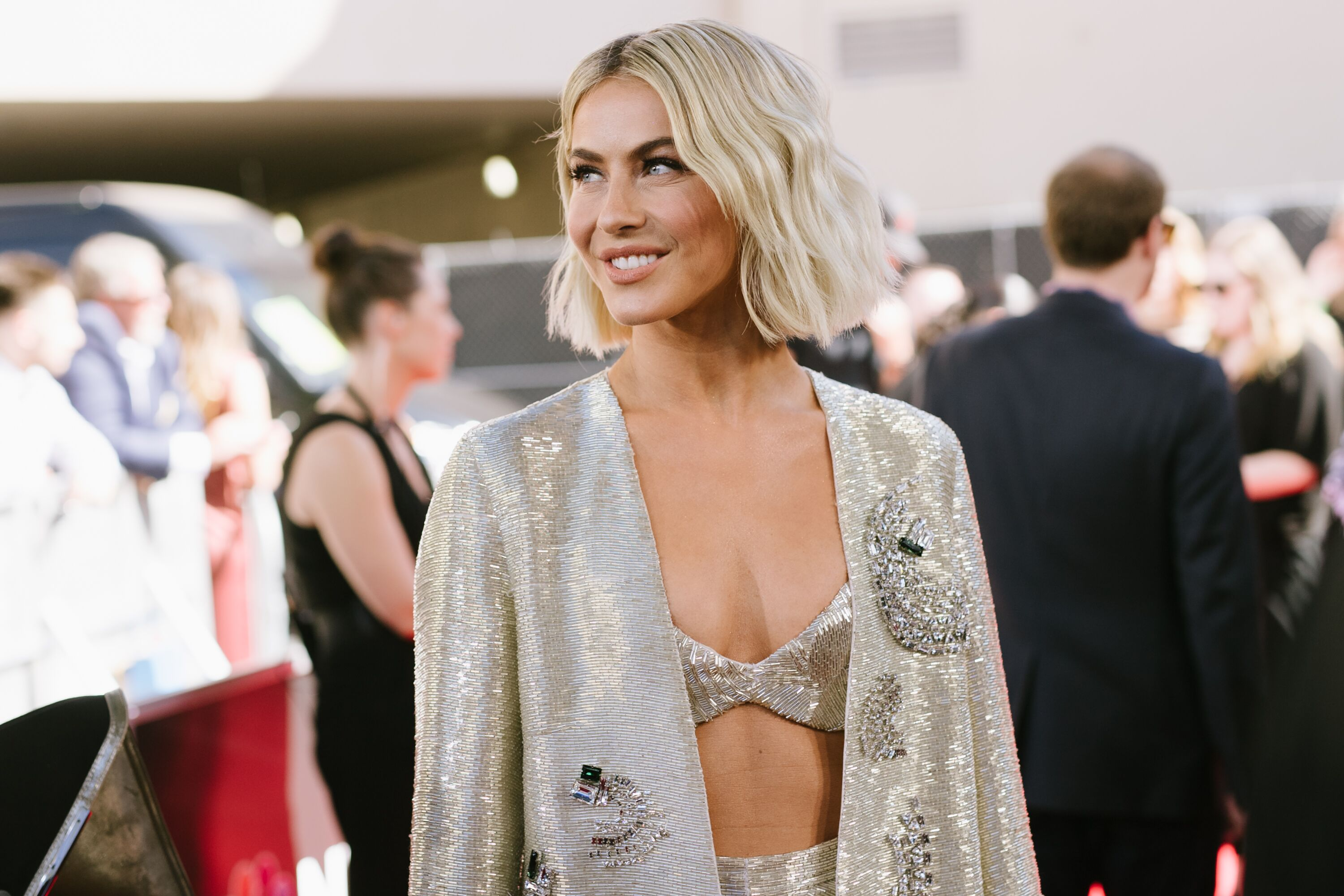 Julianne Hough Julianne Hough at the 2019 Billboard Music Awards at MGM Grand Garden Arena in Las Vegas | Source: Getty Images