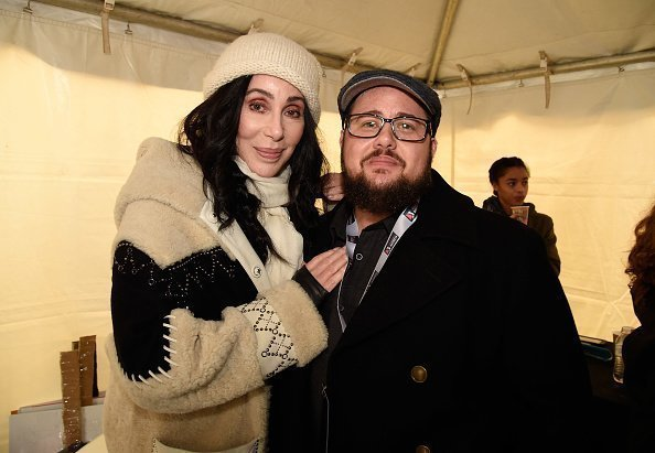 Cher and Chaz Bono at the Women's March on January 21, 2017 in Washington | Photo: Getty Images