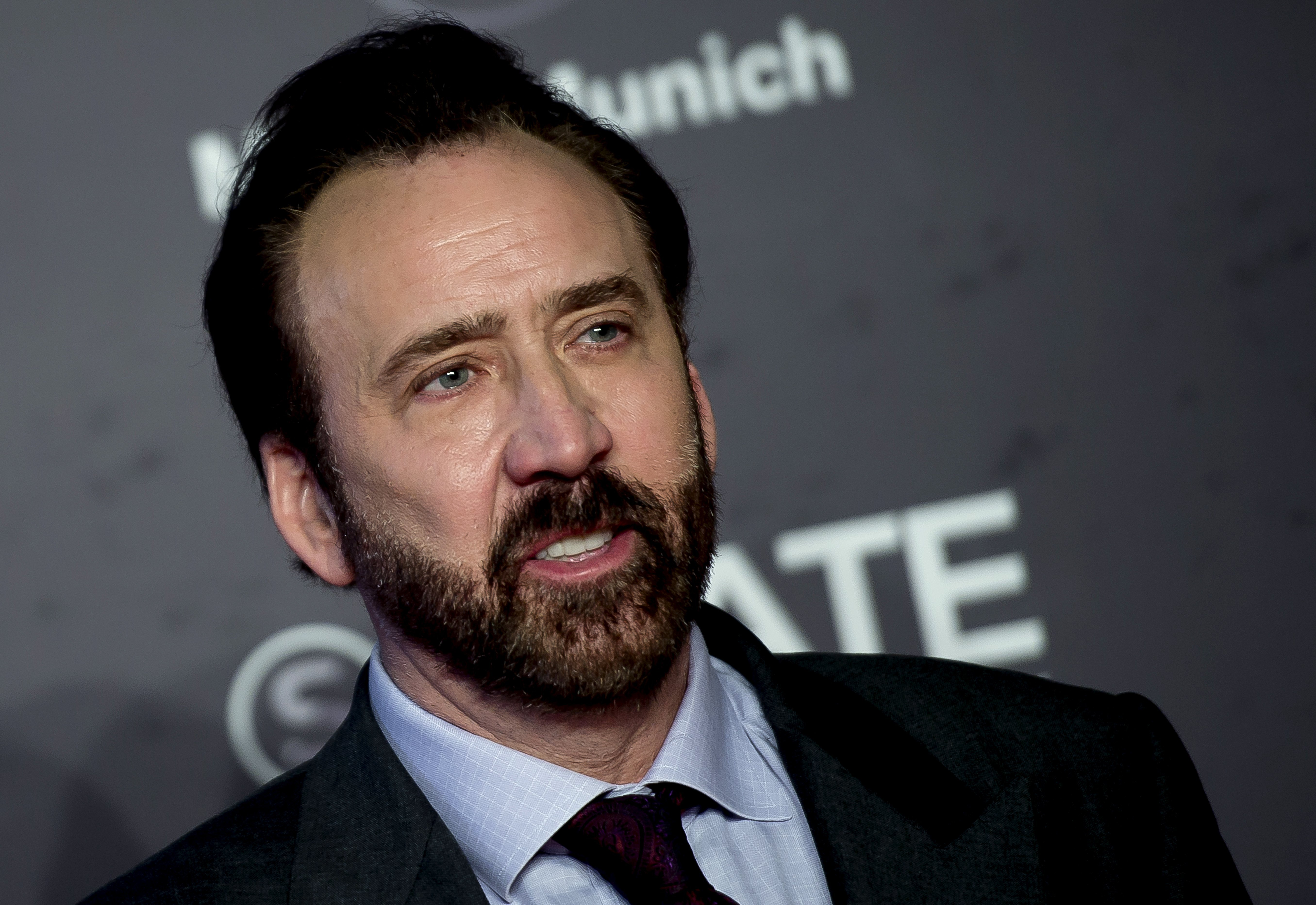 Nicholas Cage attends during `Mandy´ red Carpet at Sitges Film Festival on October on October 6, 2018, in Sitges, Spain. | Source: Getty Images.