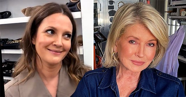 Drew Barrymore Gushes over Martha Stewart for Her Ageless Beauty in a New Pic — See Her Comment