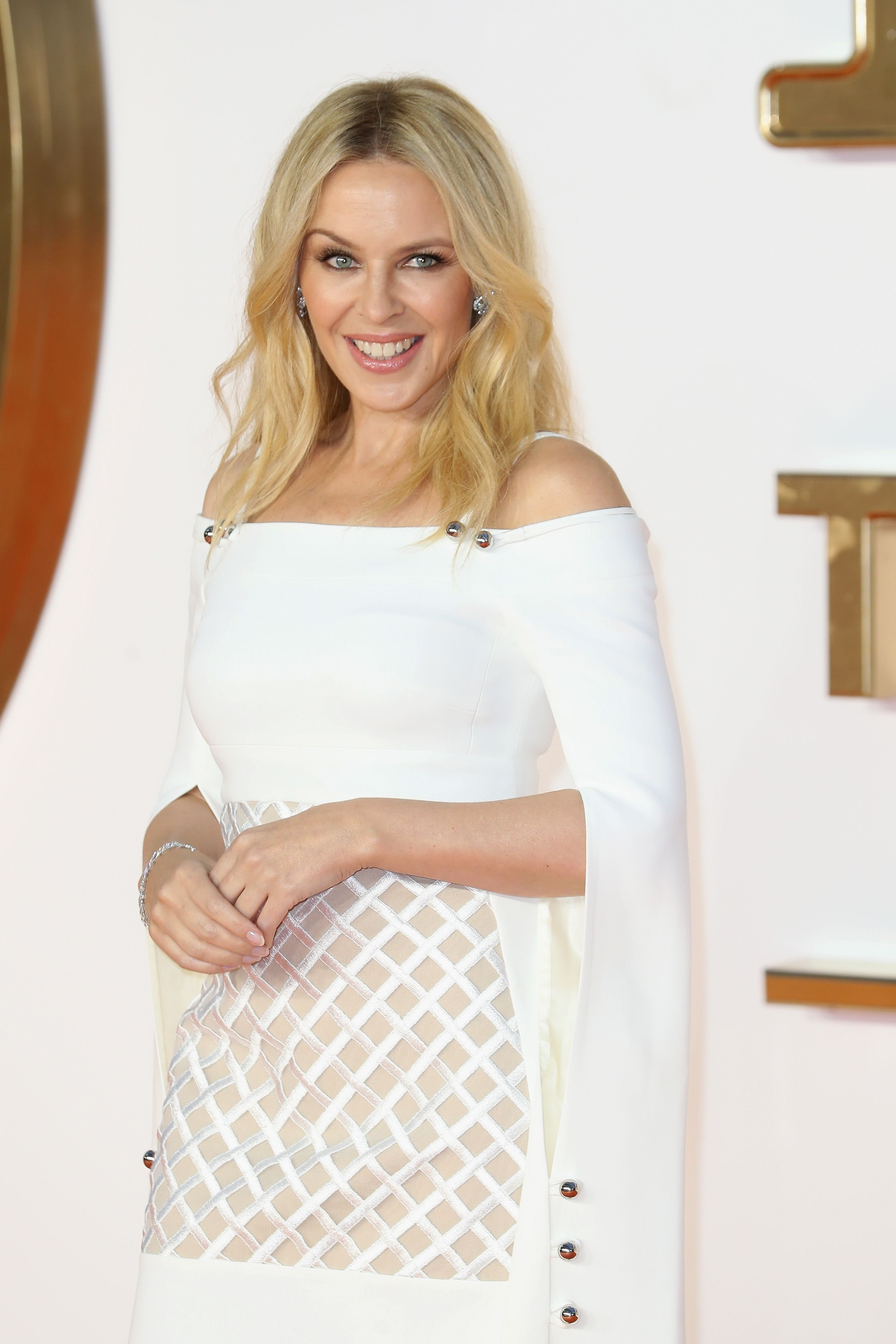 Kylie Minogue at the 'Kingsman: The Golden Circle' world premiere in 2017 in London, England   Source: Getty Images