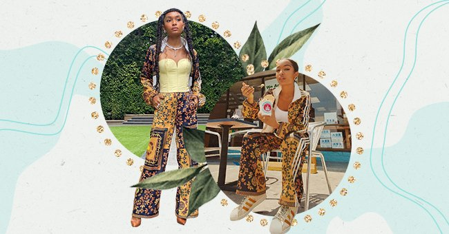 Yara Shahidi's New Colorful Adidas Collaboration Is An Ode To Her Iranian & African-American Heritage