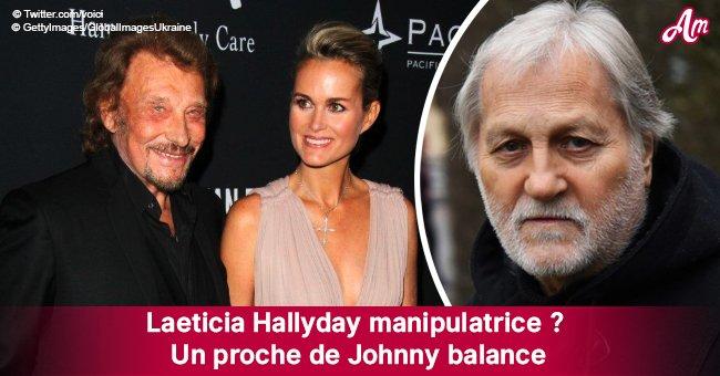 """Laeticia Hallyday est une """"manipulatrice"""", un proche de Johnny dévoile des choses"""