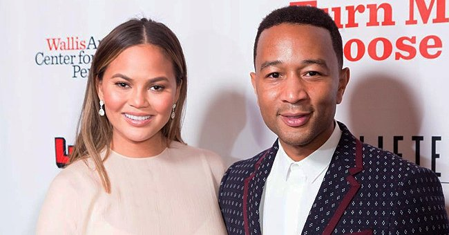 Watch a Pregnant Chrissy Teigen Get Ultrasound to See Her Baby with Daughter Luna by Her Side