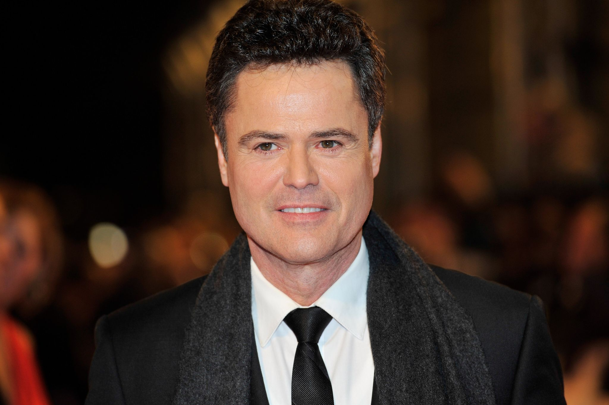 Donny Osmond at the the National Television Awards at 02 Arena on January 23, 2013 | Photo: Getty Images