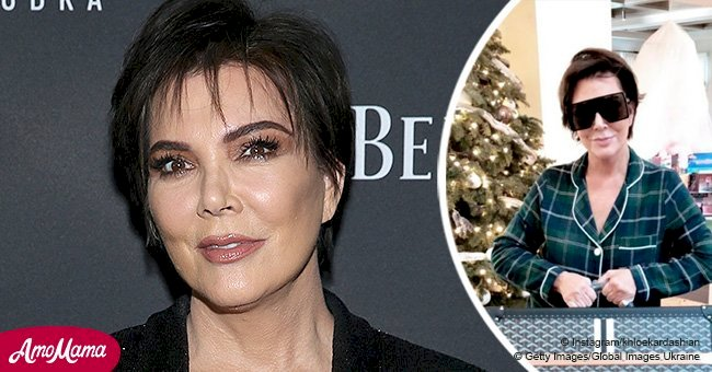 Kris Jenner receives a $15,000 suitcase on Christmas with obscene inscription about being rich