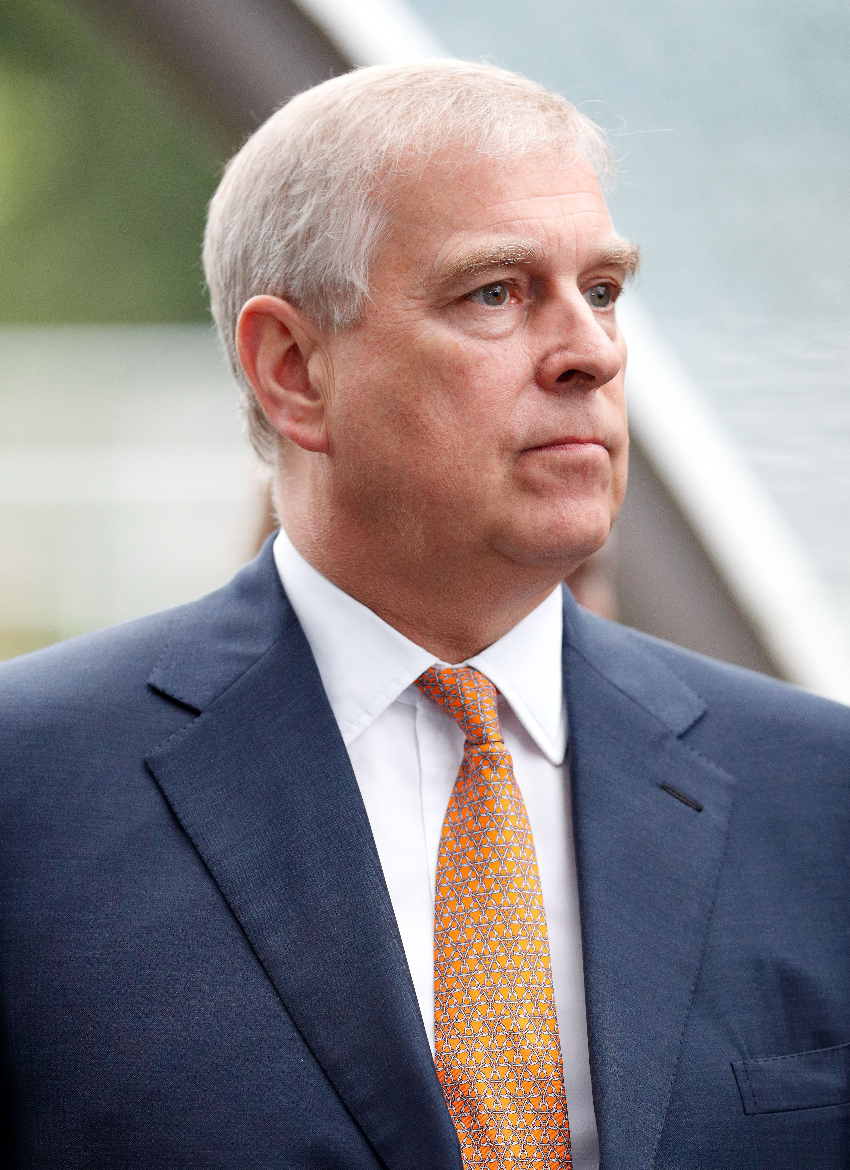 Prince Andrew during the King George VI racing meet at Ascot Racecourse on July 29, 2017 in Ascot, England. | Source: Getty Images