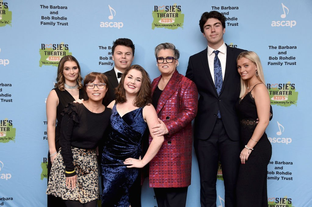 Rosie O'Donnell and her family attend the Rosie's Theatre Kids Fall Gala in New York City on November 18, 2019 | Photo: Getty Images