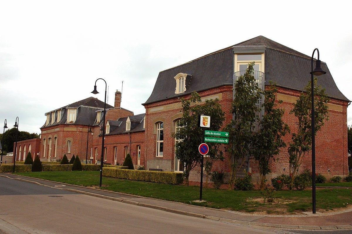La commune de Feuquières. l Source: Wikipédia