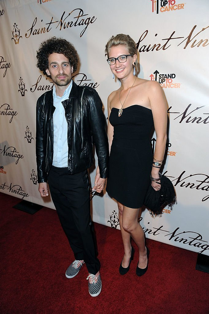 Actor Isaac Kappy and a guest arrive at the interactive evening  | Getty Images
