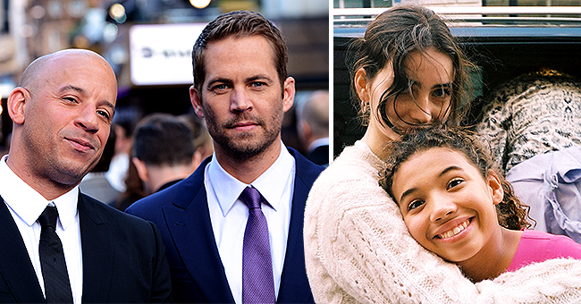 Late 'Fast & the Furious' Star Paul Walker's Daughter Embraces Vin Diesel's Girl Hanina in New Pic