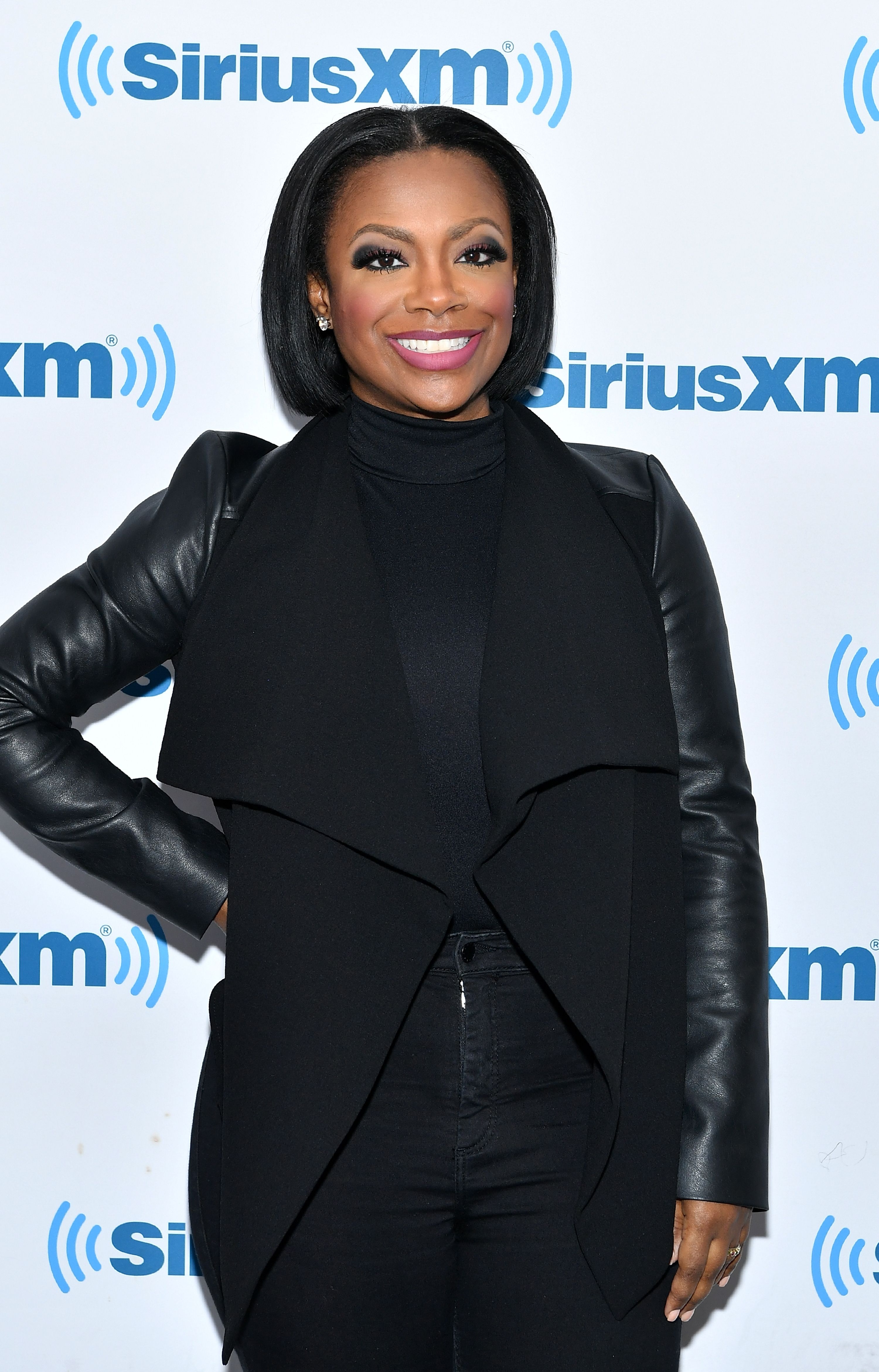 Kandi Burruss visits SiriusXM Studios on March 5, 2018 in New York City. | Photo: Getty Images.