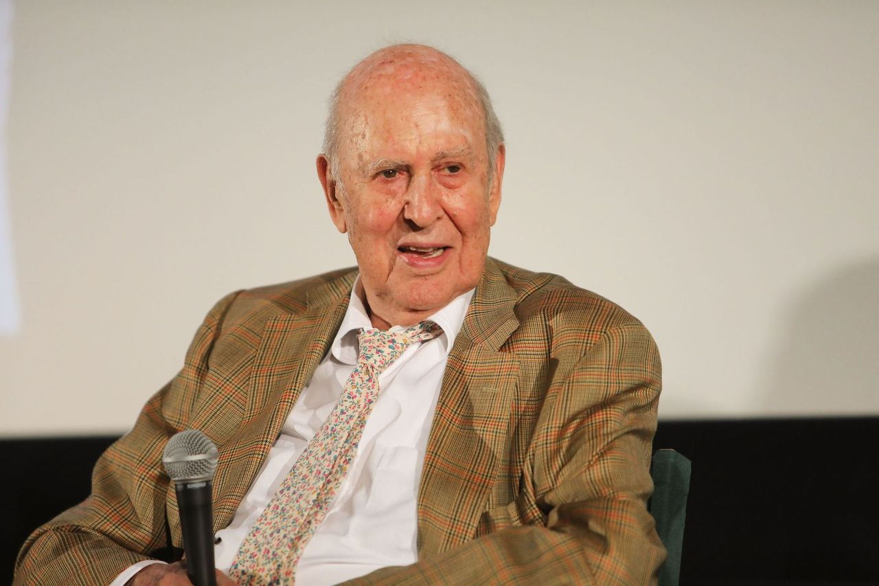"Carl Reiner attend the special screening and Q&A ""Rose Marie: Wait for Your Laugh"" at Aero Theatre on August 3, 2017 in Santa Monica, California 