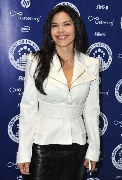 Lauren Sanchez arrives at the Summit On The Summit photo exhibition celebrating World Water Day at Siren Studios on March 22, 2013  | Photo: Getty Images