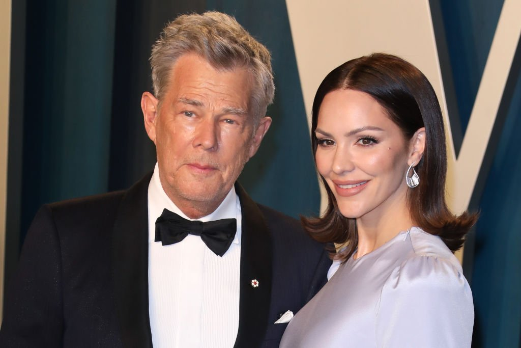Katharine McPhee and David Foster at the 2020 Vanity Fair Oscar Party at Wallis Annenberg Center for the Performing Arts on February 09, 2020 | Photo: Getty Images