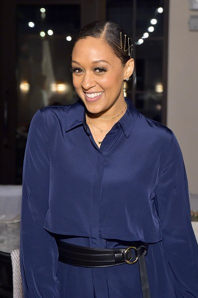 Tia Mowry at The H Club Los Angeles on October 30, 2019 | Photo: Getty Images