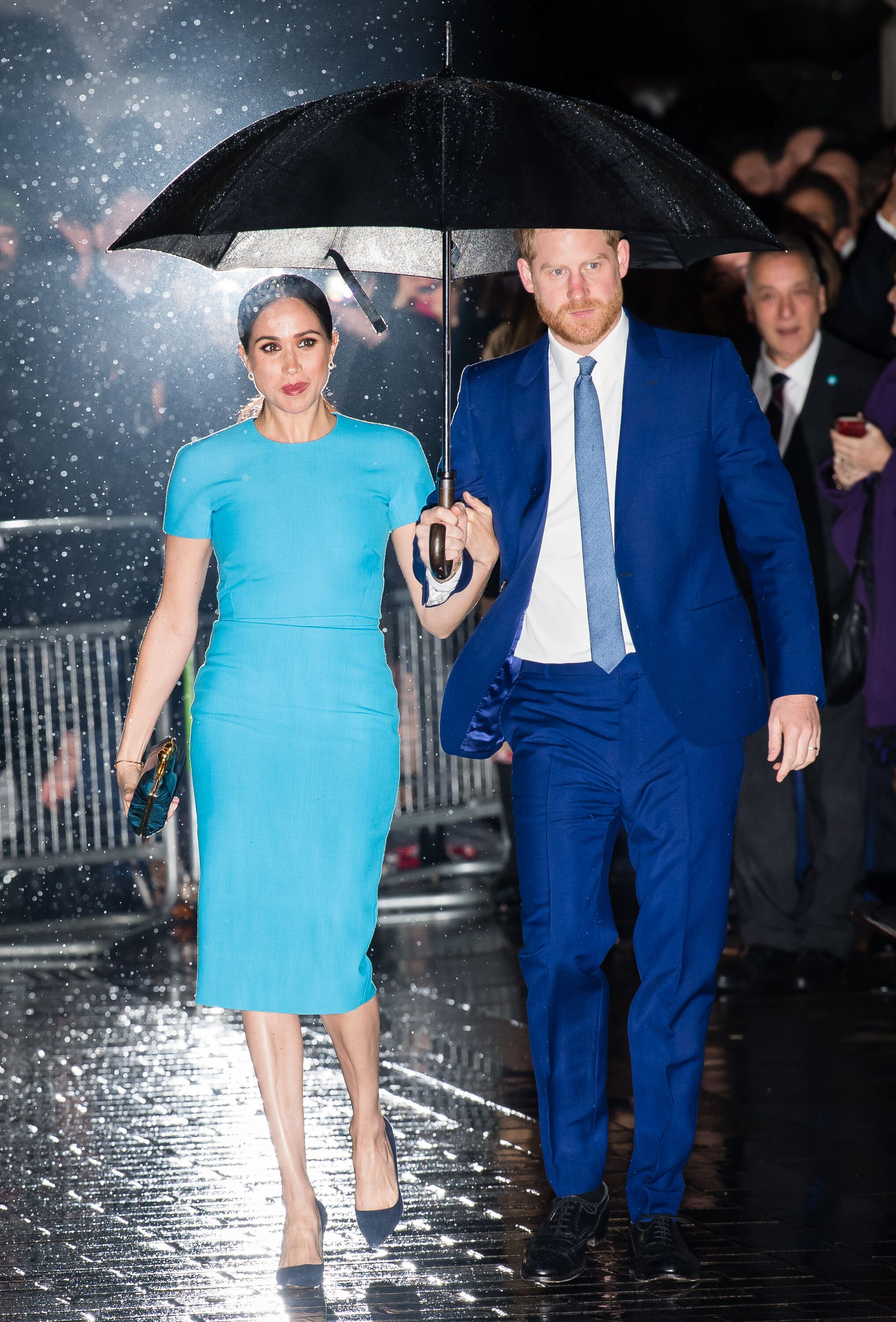 Duchess Meghan and Prince Harry at The Endeavour Fund Awards at Mansion House on March 05, 2020, in London, England. | Source: Getty Images