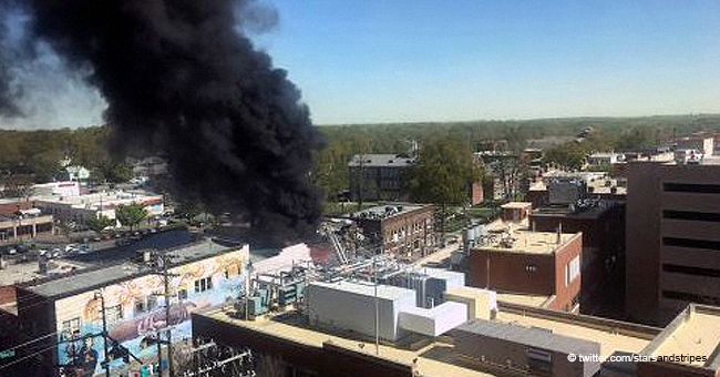 Gas Explosion Hits Downtown Durham, North Carolina