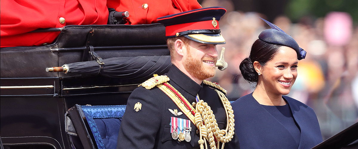 Meghan Markle Makes a Surprising Appearance at Trooping the Colour