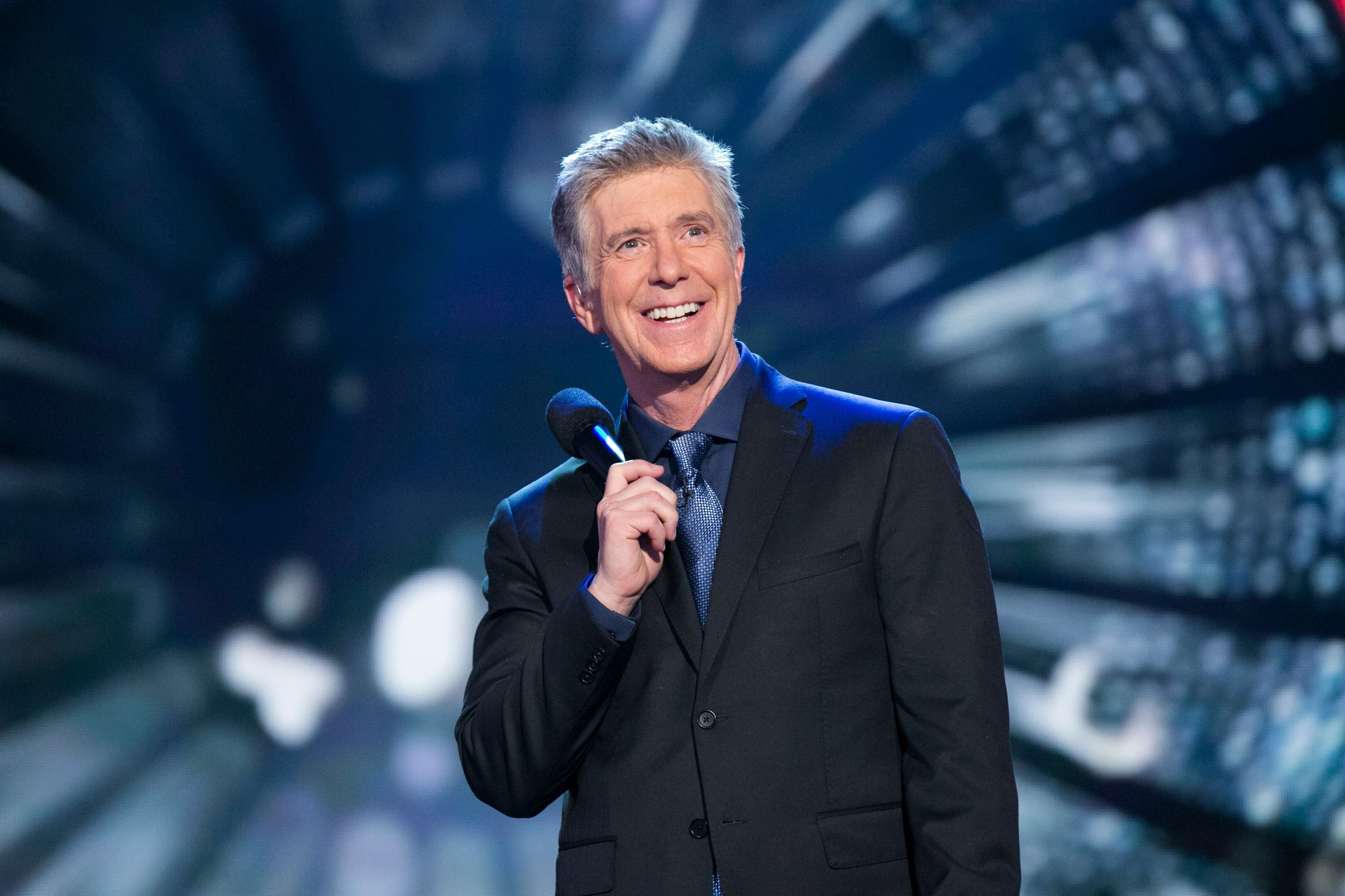 "Tom Bergeron on the set of ""Dancing With The Stars"" in Los Angeles 