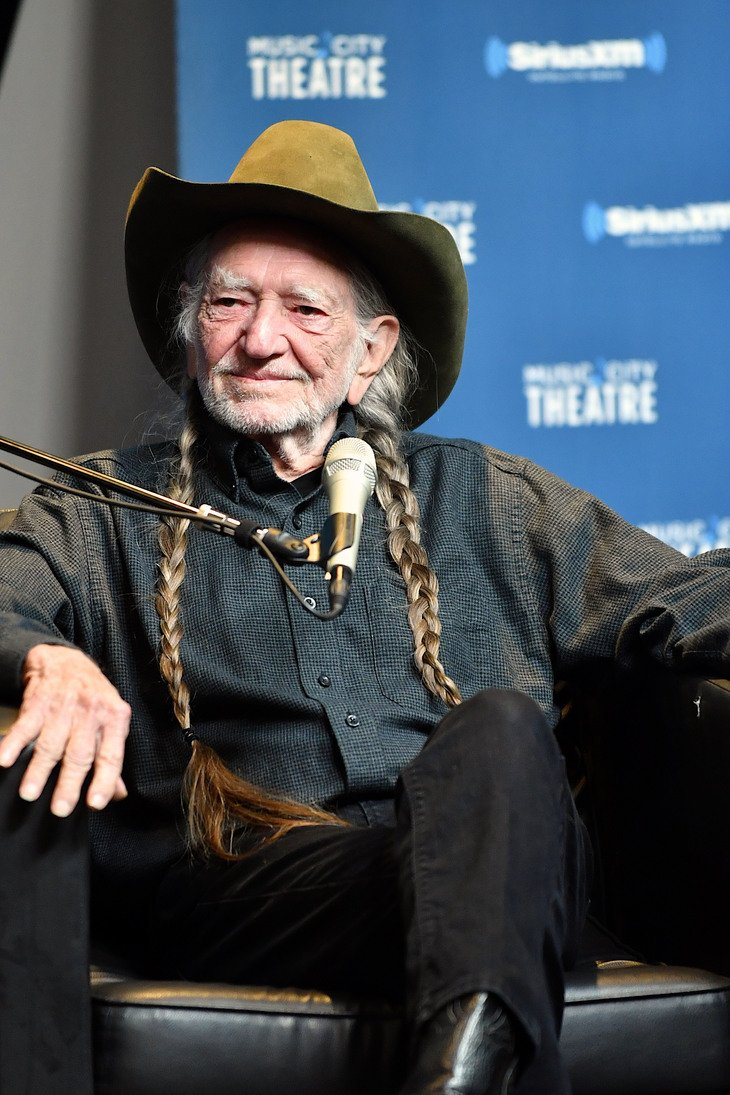 Willie Nelson speaks onstage at his album premier on April 4, 2017, in Nashville, Tennessee. | Source: Getty Images.