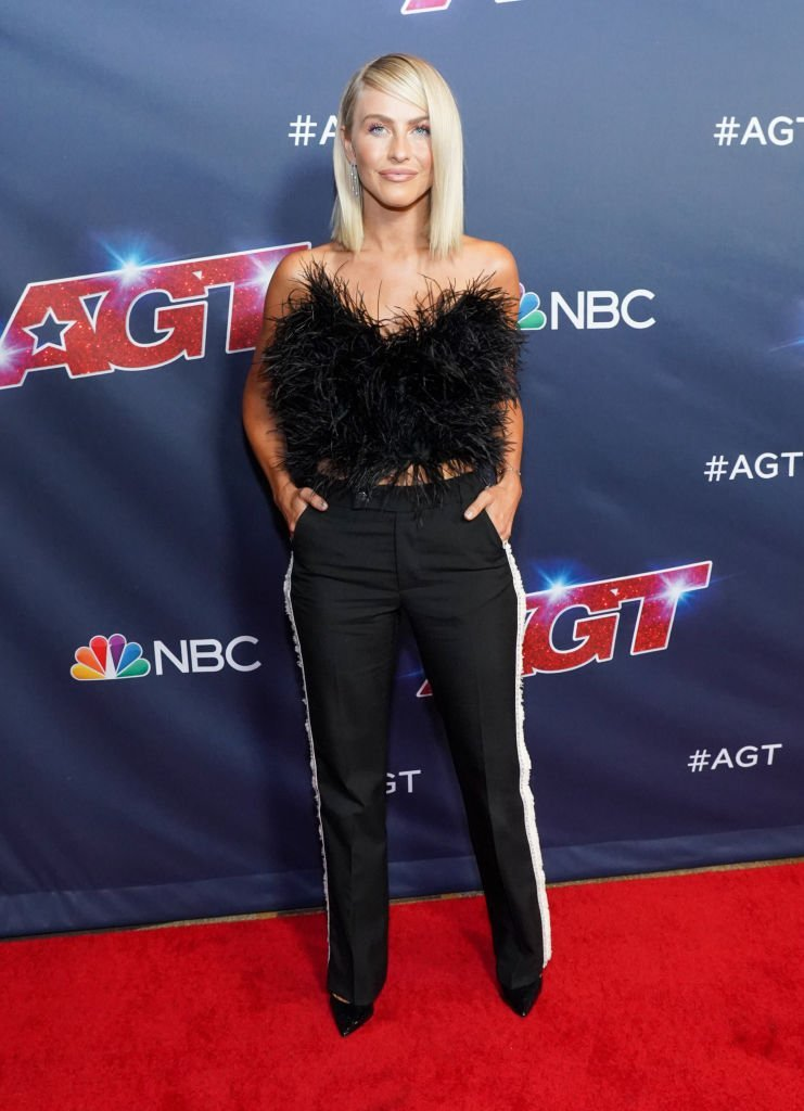 """Julianne Hough at """"America's Got Talent"""" Season 14 Live Show red carpet. 