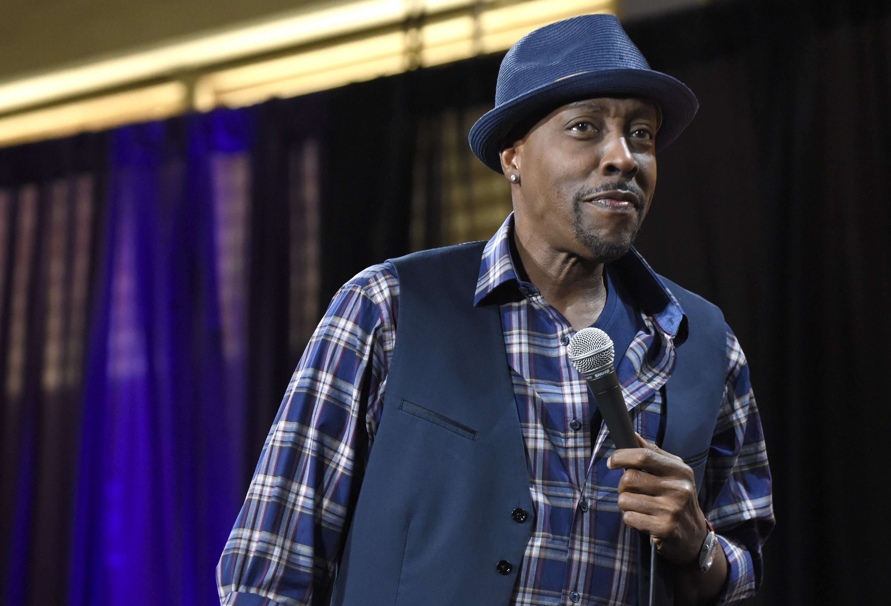 Arsenio Hall performs during KAABOO Del Mar at the Del Mar Fairgrounds on September 15, 2017.   Photo: Getty Images