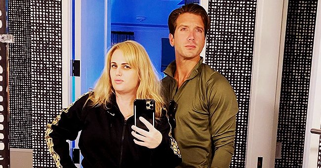 Rebel Wilson Shows off Weight Loss While Posing with Boyfriend Jacob Busch, 29, in Sweatsuits