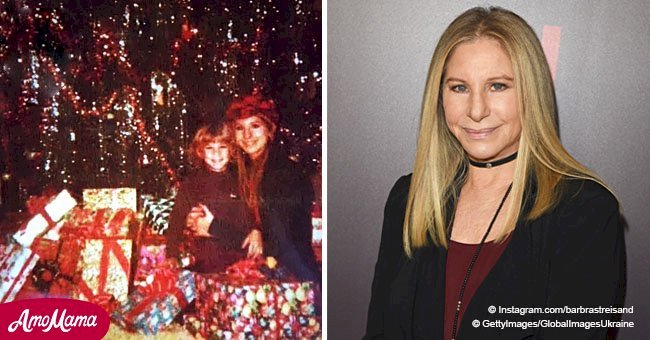 Barbra Streisand shares an incredible photo with her look-alike son