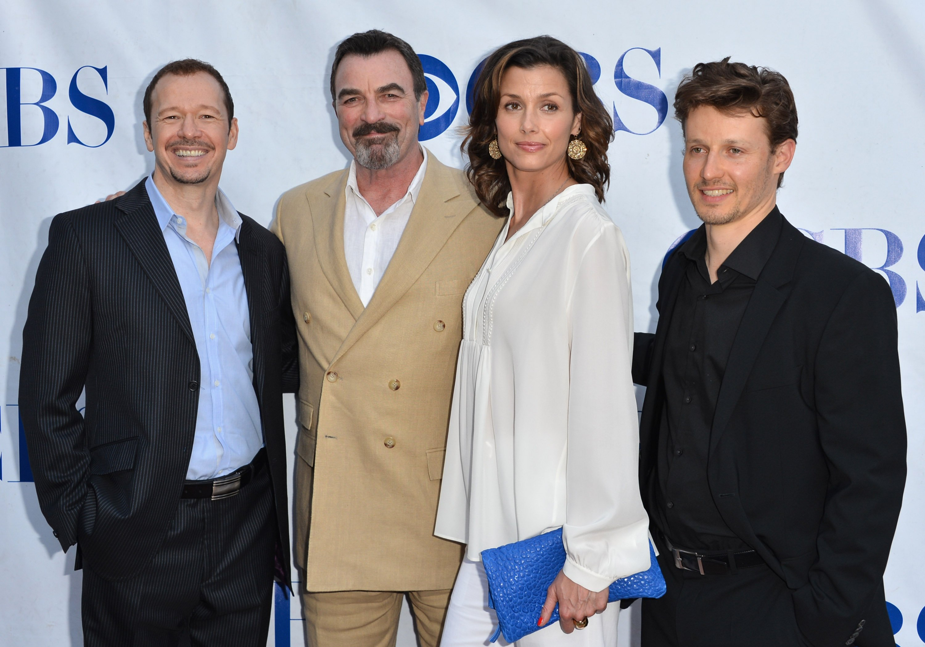 """Donnie Wahlberg, Tom Selleck, Bridget Moynahan, Will Estes arrive to a screening and panel discussion of CBS's """"Blue Bloods"""" on June 5, 2012 in North Hollywood, California 