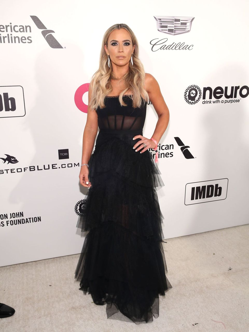 Teddi Mellencamp attends the 27th Annual Elton John AIDS Foundation Academy Awards on February 24, 2019 in West Hollywood, California.   Source: Getty Images