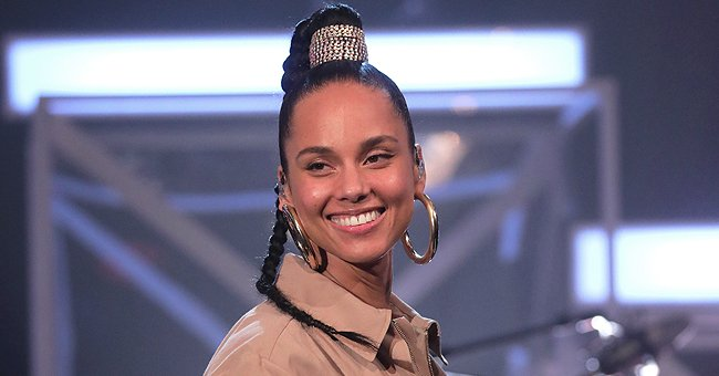 Check Out Alicia Keys' Son Genesis' Mood as He Shows off His Cute Brown Eyes Posing Outdoors