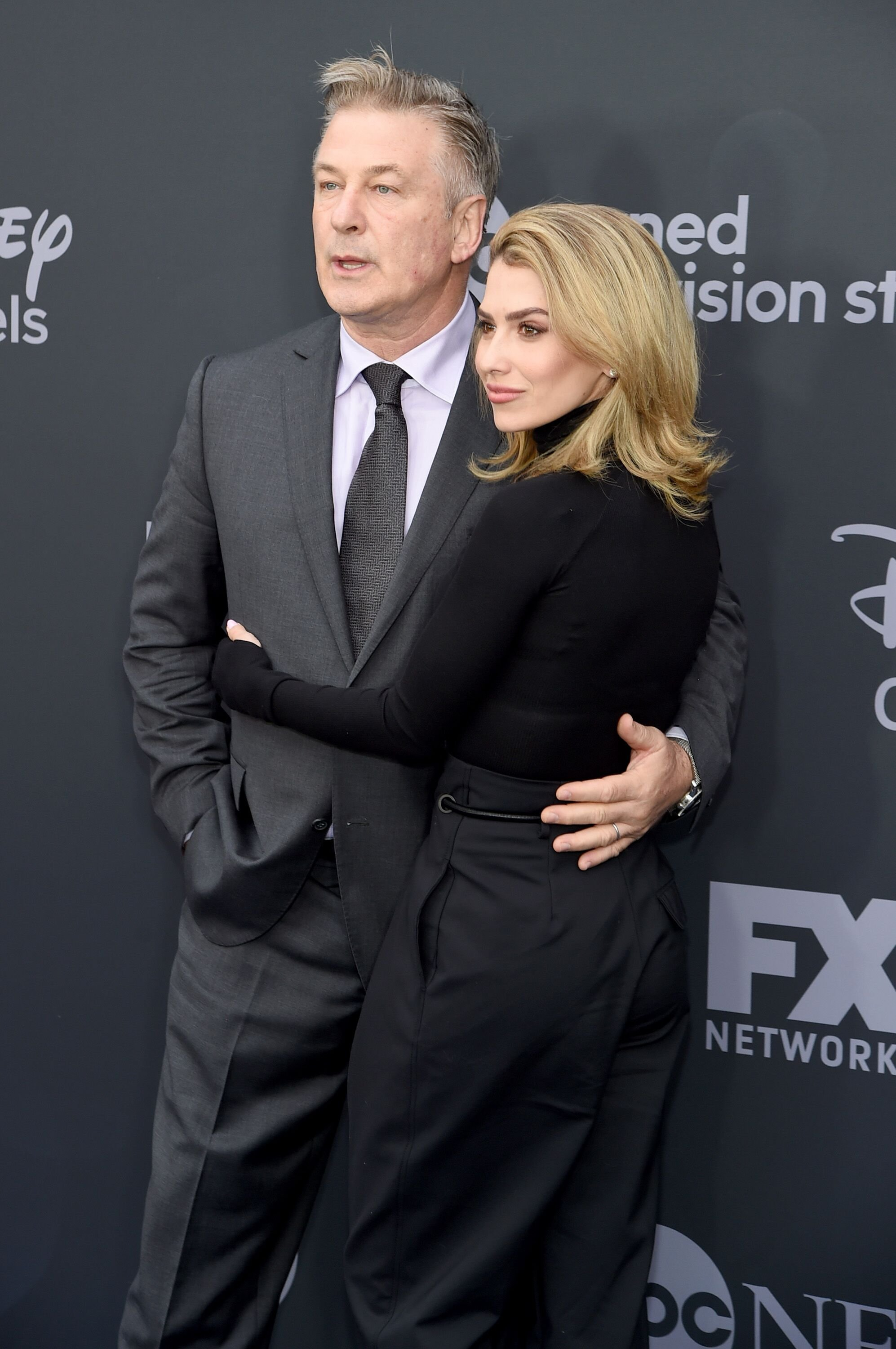 Alec and Hilaria Baldwin at the ABC Walt Disney Television Upfront on May 14, 2019, in New York City | Photo: Jamie McCarthy/Getty Images