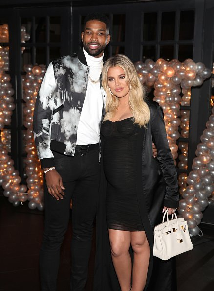 Tristan Thompson and Khloe Kardashian at Beauty & Essex on March 10, 2018 in Los Angeles, California | Photo: Getty Images