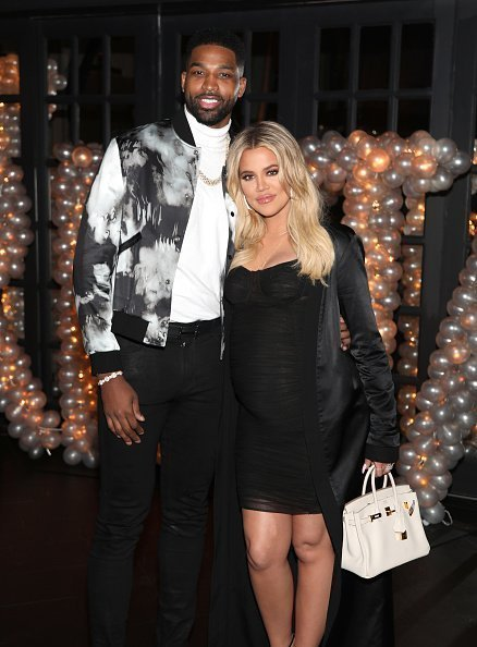 Tristan Thompson and Khloe Kardashian at Beauty & Essex on March 10, 2018 in Los Angeles, California. | Photo: Getty Images