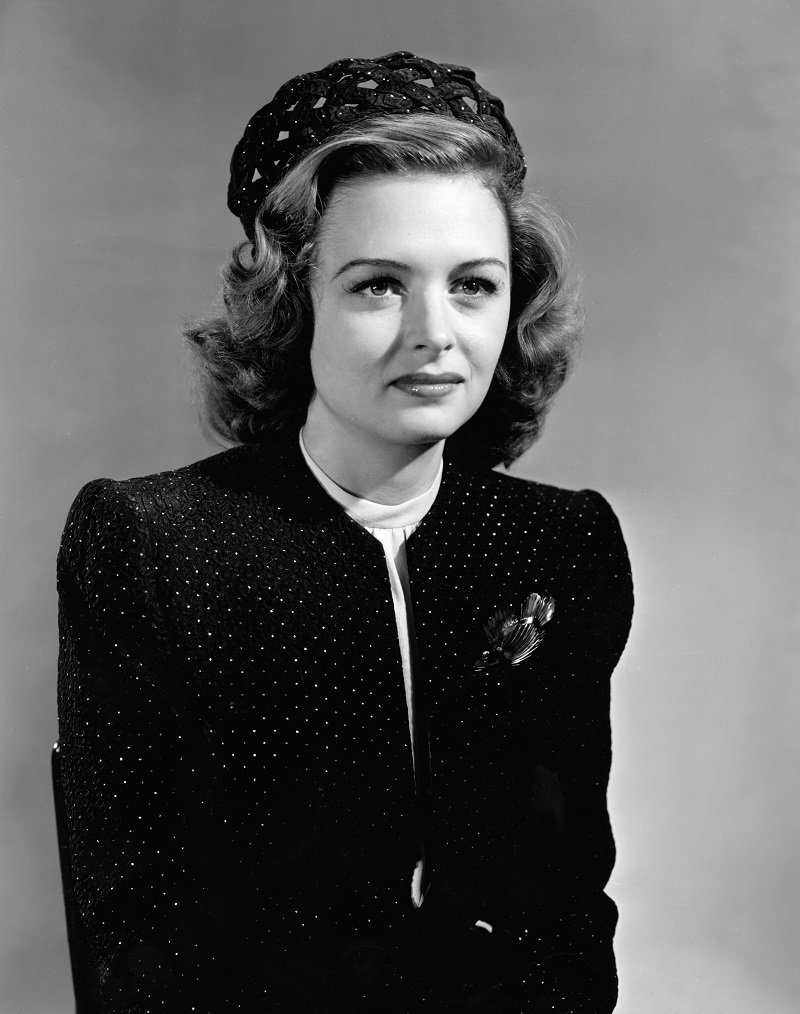 Portrait Donna Reed circa 1942 | Photo: Getty Images