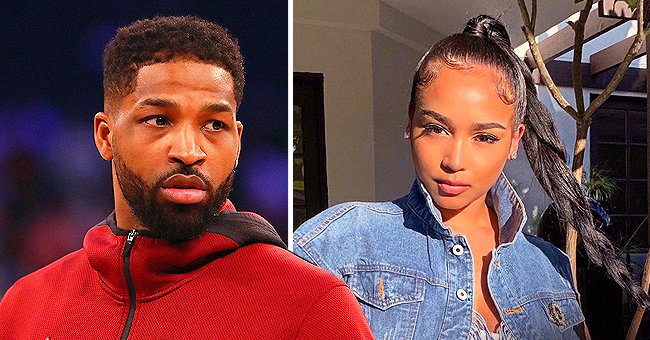 Tristan Thompson's Eх Jordan Craig Poses in Tight Leopard Workout Suit