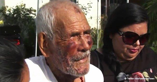 15 años de cárcel para mujer racista que golpeó brutalmente a un mexicano de 92 años