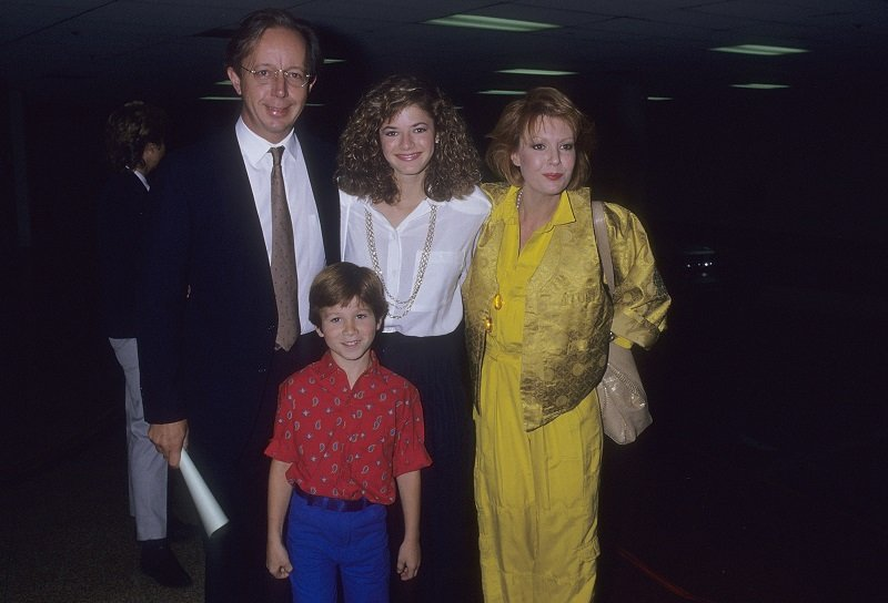 Max Wright, Andrea Elson, Anne Schedeen and Benji Gregory on June 2, 1987 in Century City, California   Photo: Getty Images