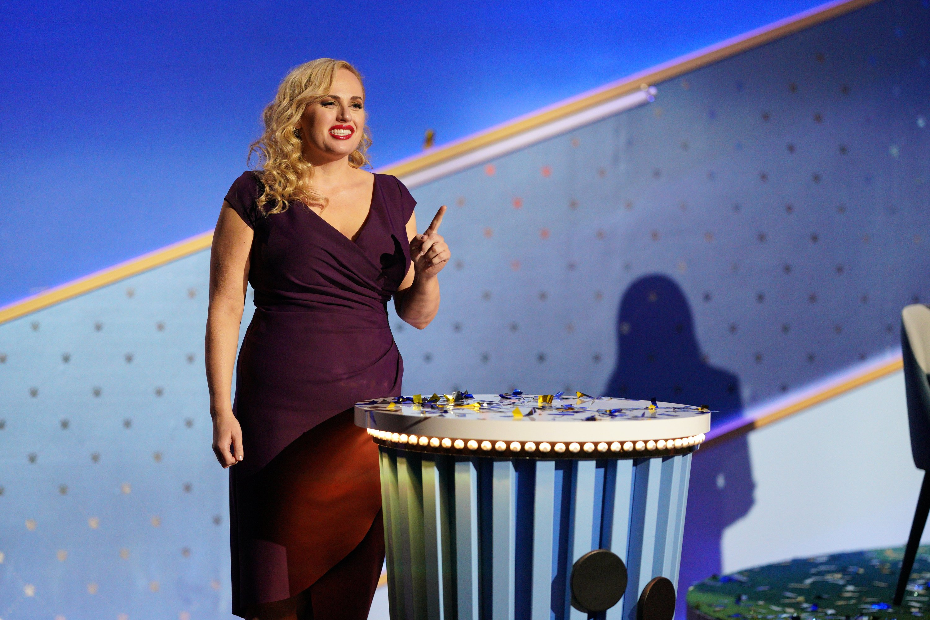 Rebel Wilson at The Grand Fur-nalé The season finale of Pooch Perfect has arrived and the judges are ready to grant one team the Best in Show title on TUESDAY, MAY 18 | Source: Getty Images